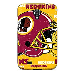 Scratch Resistant Hard Phone Covers For Samsung Galaxy S4 With Support Your Personal Customized High Resolution Washington Redskins Skin AnnaDubois