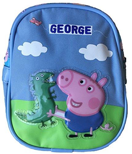 Peppa Pig George Mini Schulter Tasche mit George und Herr Dinosaurier