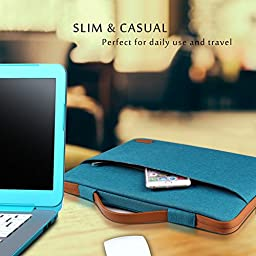 ProCase 13 - 13.5 Inch Laptop Sleeve Cover Bag for Surface Book, Macbook Pro Air, Ultrabook Notebook Carrying Case Handbag for 12\