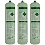3 Argon Pure Disposable Welding Mig Gas Bottle Welders 1369 60 L Litre WG/1369