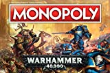Monopoly Warhammer 40,000 Board Game   Based on Warhammer 40,000 from Games Workshop   Officially Licensed Warhammer 40,000 Merchandise   Themed Classic Monopoly Game