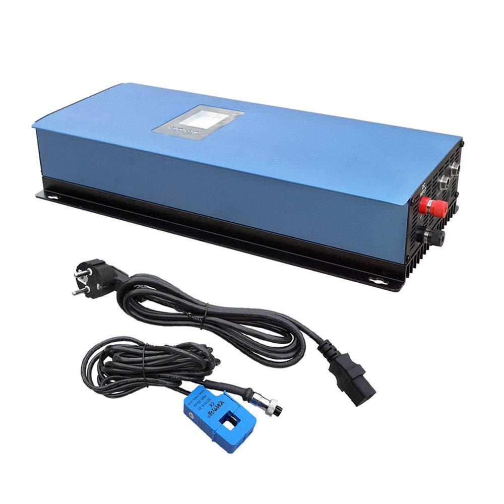iMeshbean 2000W Grid Tie Inverter with Limiter MPPT Solar PV System for Solar Panels DC 45V-90V to AC 220V EU Plug Stackable
