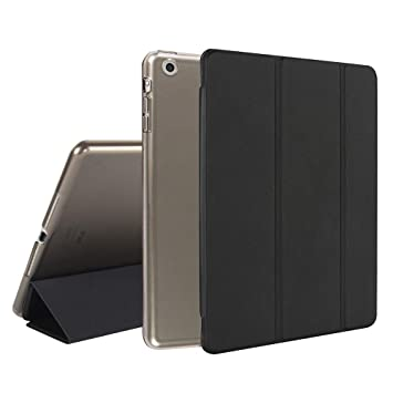 MTRONX para Apple Funda iPad Mini 3 / Mini 2 / Mini 1, magnético Soporte triángulo y función Auto Sleep/Wake, Cubierta Protectora esmerilada ...
