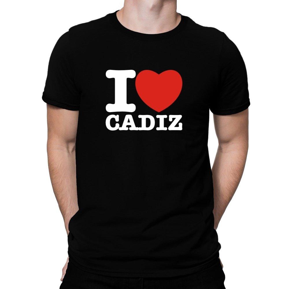 Teeburon I Love Cadiz Camiseta: Amazon.es: Ropa y accesorios
