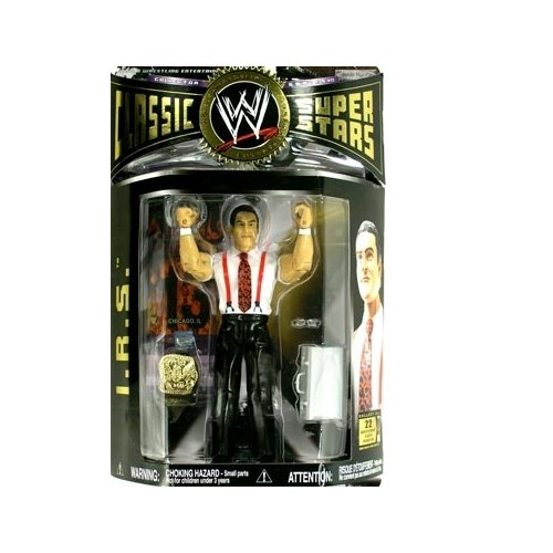 WWE Classic Superstars Series 11 > I.R.S. Action Figure