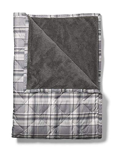Eddie Bauer Oversized Down Throw, Ash Regular ONESZE ()