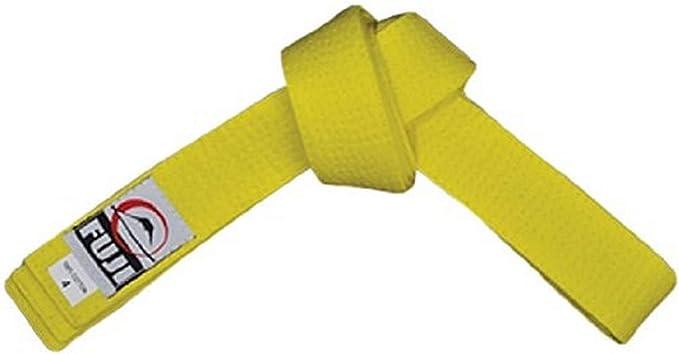 Size C0 Yellow Fuji BJJ Belt