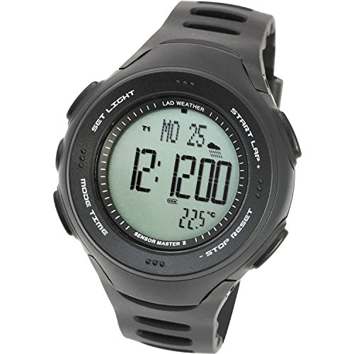 [LAD WEATHER] American Sensor Altimeter Barometer Digital compass Triple Sensor watch Weather Forecast Thermometer