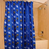 College Covers Kentucky Wildcats Printed Shower Curtain Cover, 70 by 72''