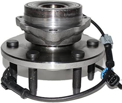 AdecoAutoParts/© 515106 Front Left Wheel bearing Hub assembly for Chevrolet Colorado 2004 2005-2008 GMC Canyon 2006 2007 2008