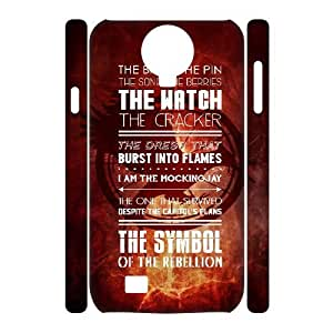 3D Stevebrown5v the Hunger Games Samsung Galaxy S4 Cases the Hunger Games Catching Fire Symbol .The Hunger Games Quotes, Cheap the Hunger Games, {White}