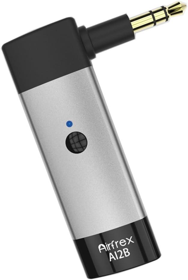 Airfrex Receptor Bluetooth para Auriculares Beats Solo 2/ Studio 2 / Pro/Executive/Mixr, Manos Libres Adaptador Bluetooth Inalámbricos para Home Audio System y Audio de Coche y Auriculares