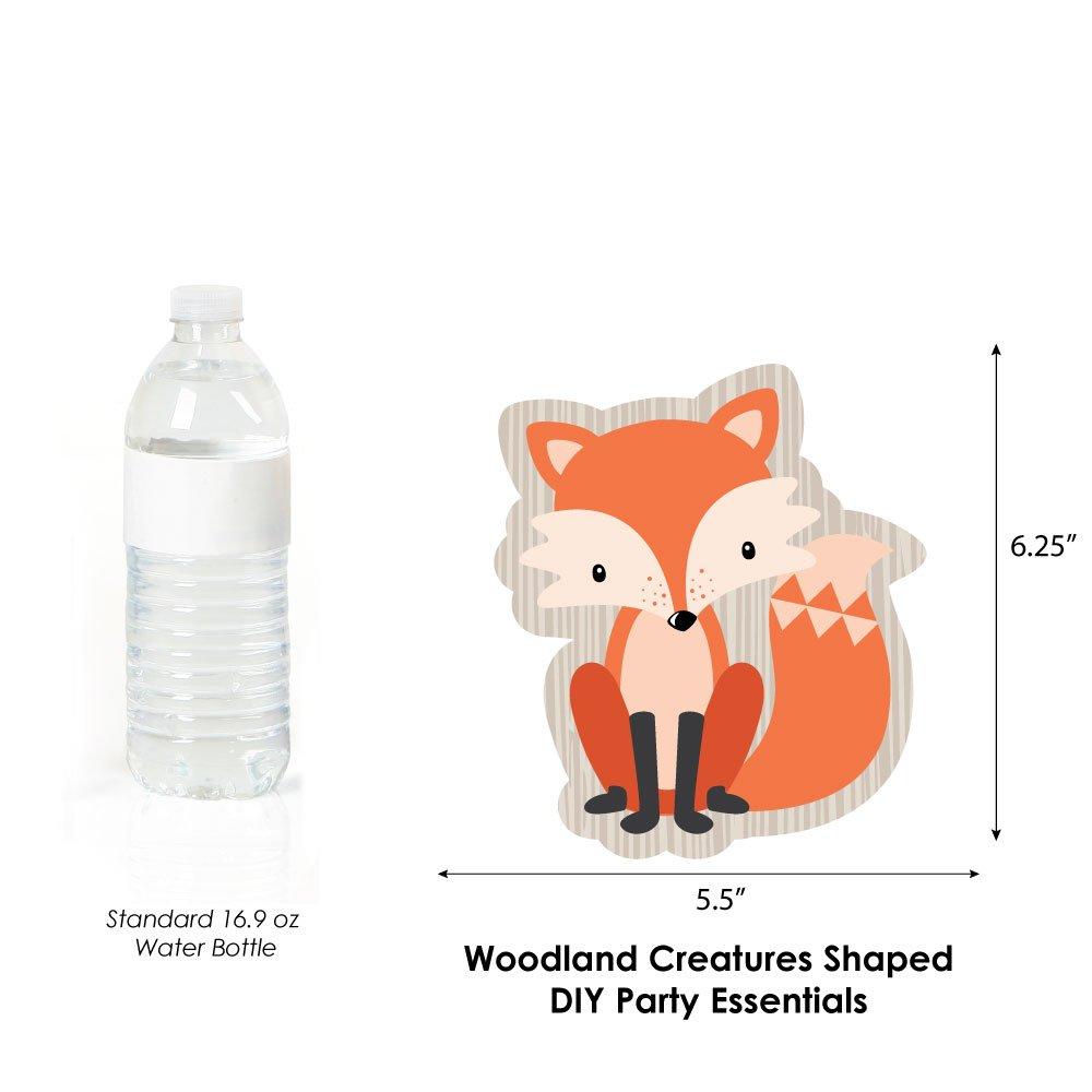 Amazon Com Woodland Creatures Animal Shaped Decorations Diy Baby