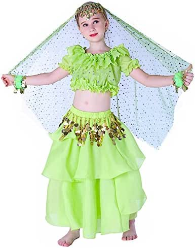 Halloween Costumes Set for Kids Belly Dancing