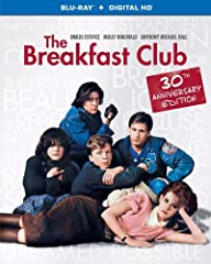 From writer/director John Hughes (Sixteen Candles, Weird Science), The Breakfast Club is an iconic portrait of 1980s American high school life. When Saturday detention started, they were simply the Jock, the Princess, the Brain, the Criminal ...