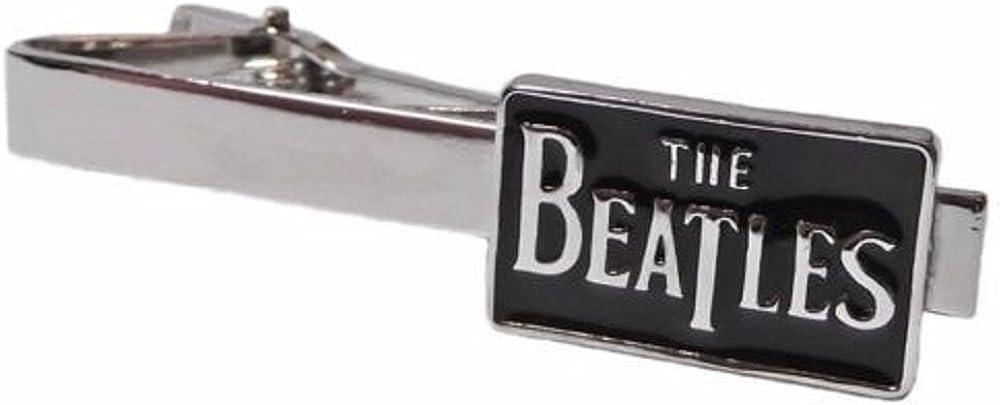 New Horizons Production The Beatles Logo Silvertone Metal TIE Clip