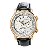 Jaeger LeCoultre Master World Geographic Automatic-self-Wind Male Watch 146.2.32.S (Certified Pre-Owned)