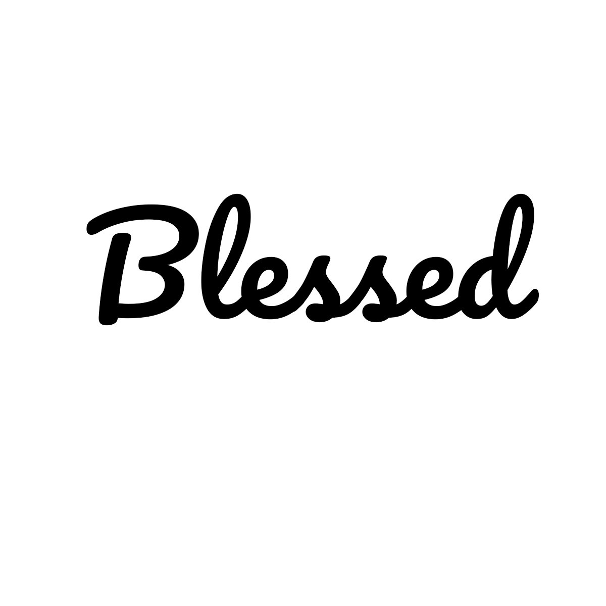 5 Blessed Auto Car Racing Motorcycle Helmet Decal White Decal Serpent