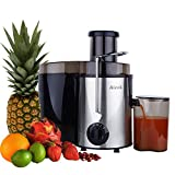 #5: Aicok Juice Extractor, Juicer Centrifugal Fruit Machine Powerful 400 Watt with Juice Jug and Cleaning Brush, Stainless Steel