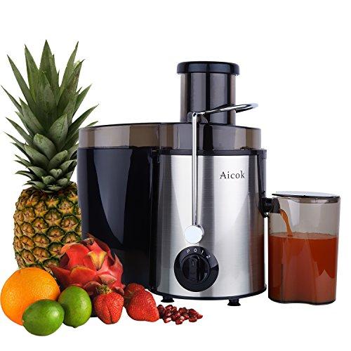 Aicok Juice Extractor, Juicer Centrifugal Fruit Machine Powerful