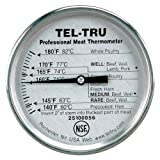 Tel-Tru RM275R Meat Cooking Thermometer, 2 inch dial, 5 inch stem, 140/180 degrees F