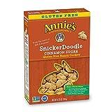 Annie's Gluten Free Snickerdoodle Bunny Cookies Bunny Cookies 6.75 oz (Pack of 4)