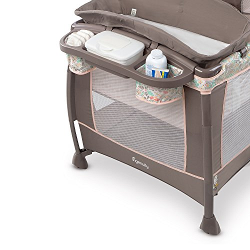 Ingenuity Soothe Me Softly Washable Playard- Piper by Ingenuity (Image #6)