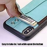 TOOVREN iPhone X Wallet Case, iPhone Xs/10