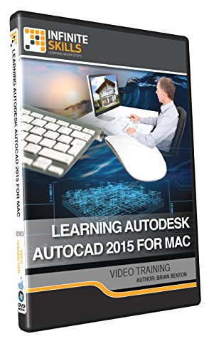 Learning Autodesk AutoCAD 2015 For Mac - Training DVD by Infiniteskills