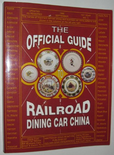 The Official Guide to Railroad Dining Car China