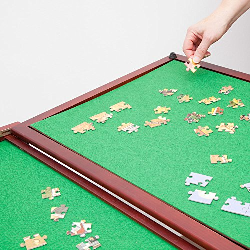 Bits And Pieces Wooden Fold And Go Jigsaw Table Collapsible