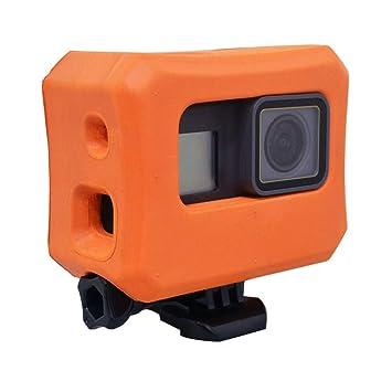 Floaty para GoPro Hero 6 Hero 5 cámaras, Funda Flotante Naranja para GoPro Flotador Accesorios Uso para Deportes acuáticos, natación, Buceo: Amazon.es: ...