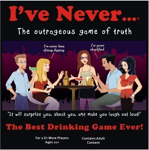 I've Never The Outrageous Game of Truth - This is a Drinking Board Game and it will Surprise You Shock You and Make You Laugh Out Loud (The Best Drinking Game Ever)