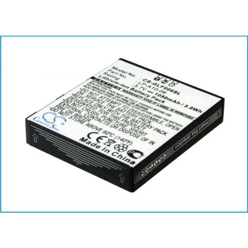 "Price comparison product image Smavco Bundle 1050mAh Lp-A10-06 Battery for Golfbuddy Pro, Tour Gps Range Finder Plus 12"" Short Flat Micro USB Cable"