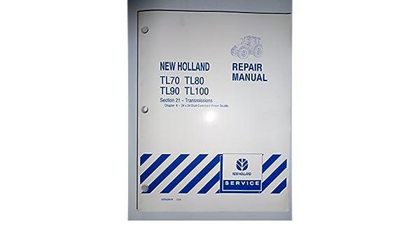 New Holland Tl90 Service Manual. Interesting New Holland Operators on