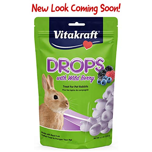 Pictures of Vitakraft Rabbit Drops With Wild Berries Treat 25443 3