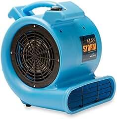 Max Storm 1/2 HP Durable Lightweight Air Mover Carpet Dryer Blower Floor Fan...