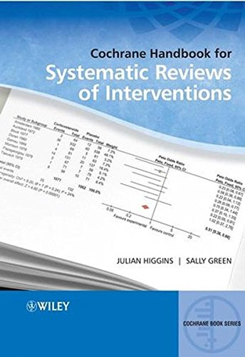 Cochrane Handbook for Systematic Reviews of Interventions (Handbook Review)