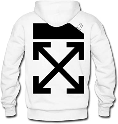 Off White Must Be Nice Pullover Hoodies For Women Whtie Xxx Large Amazon Co Uk Clothing