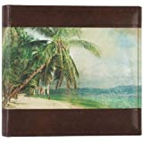 Pinnacle Retro Painted Beach Scene Album