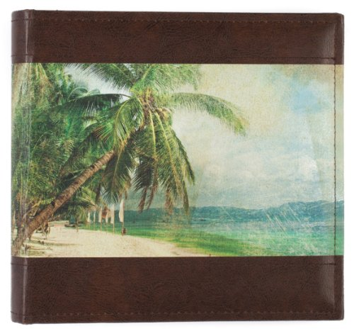(Pinnacle Frames and Accents 2UP RETRO TRAVEL PAINTED BEACH SCENE PHOTO)