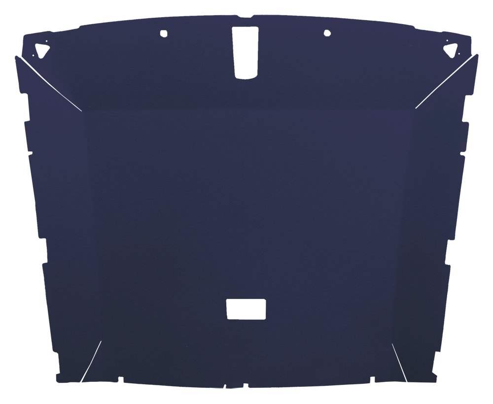 Acme AFH31-FB1805 ABS Plastic Headliner Covered With Canyon Red 1//4 Foambacked Cloth