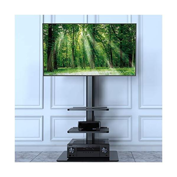 Black TV Stand MOUNT