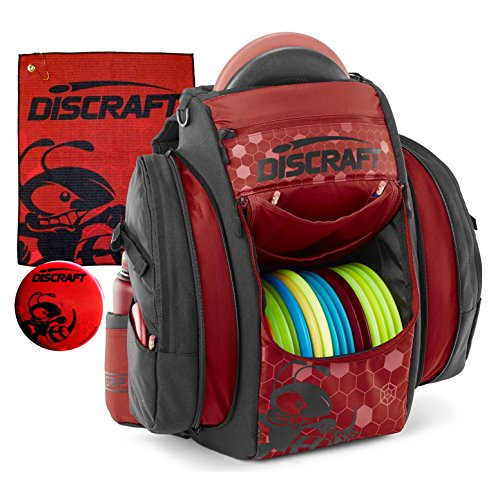 Discraft Grip EQ BX BUZZZ Disc Golf Bag (Fire) by Discraft