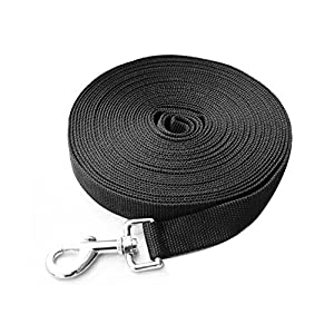 Dog Leash Fabselection Pet Neck Leash Heavy Duty 15m Nylon Comfortable Pet Lead For Walks Strong Very Durable Leashes… Click on image for further info.