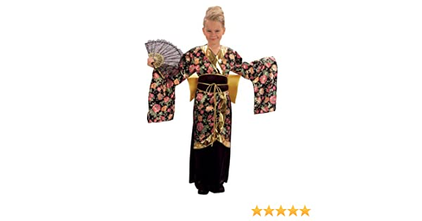 Bristol Novelty Geisha Girl Costume (L) Childs Age 7 - 9 Years