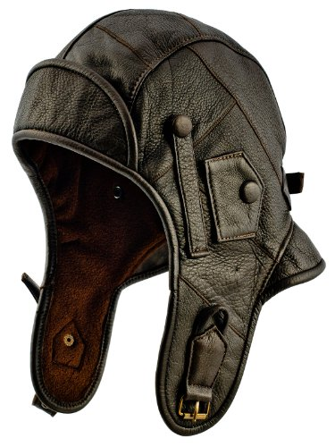 Bomber Leather Hat - 7