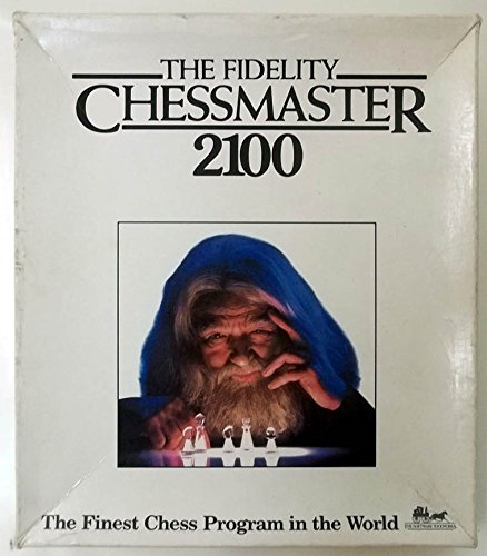 The Fidelity Chessmaster 2100 Software Toolworks Apple II game 1988