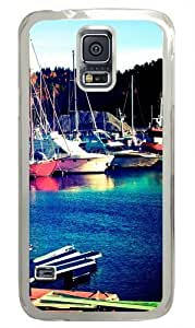Asker Norway PC Case Cover for Samsung S5 and Samsung Galaxy S5 Transparent