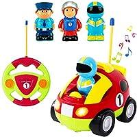 Liberty Imports Cartoon R /C Race Car Radio Control Juguete para niños pequeños (Embalaje en inglés)